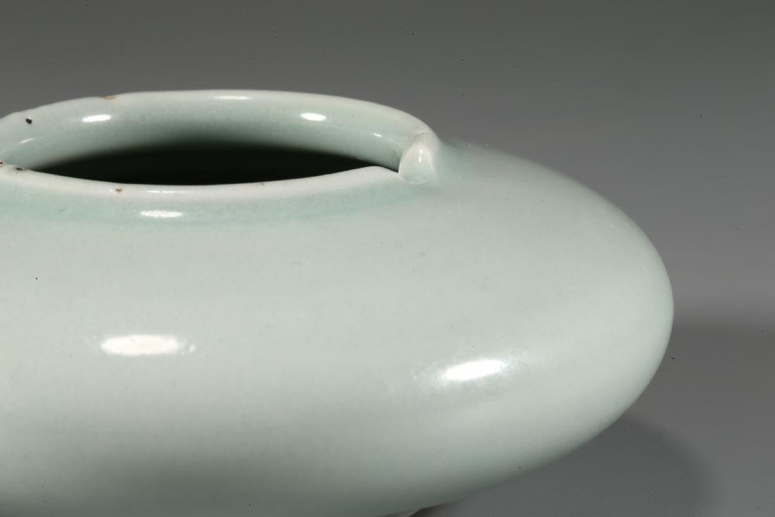 CHINESE CELADON GLAZED PORCELAIN WATER POT - 3