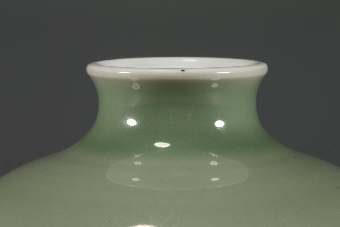 CHINESE CELADON GLAZED PORCELAIN WATER POT - 3