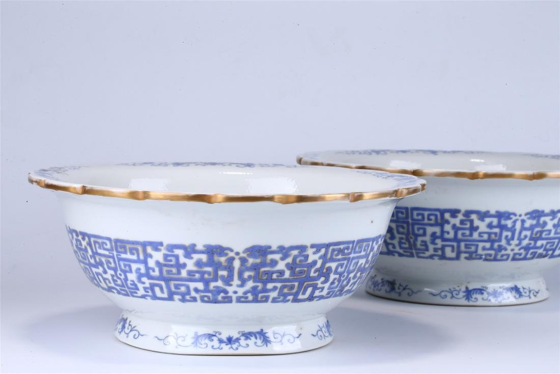 PAIR OF CHINESE FAMILLE ROSE PORCELAIN PLANTERS - 2