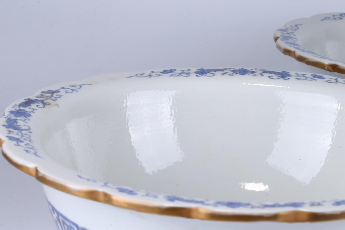 PAIR OF CHINESE FAMILLE ROSE PORCELAIN PLANTERS - 3