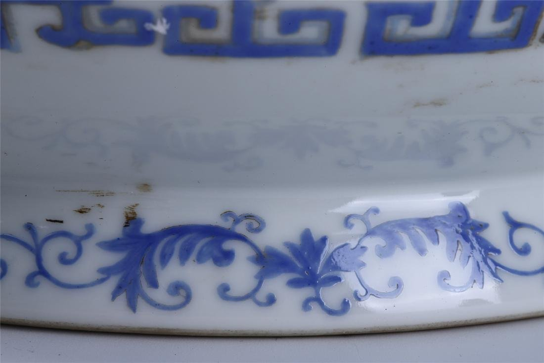 PAIR OF CHINESE FAMILLE ROSE PORCELAIN PLANTERS - 8