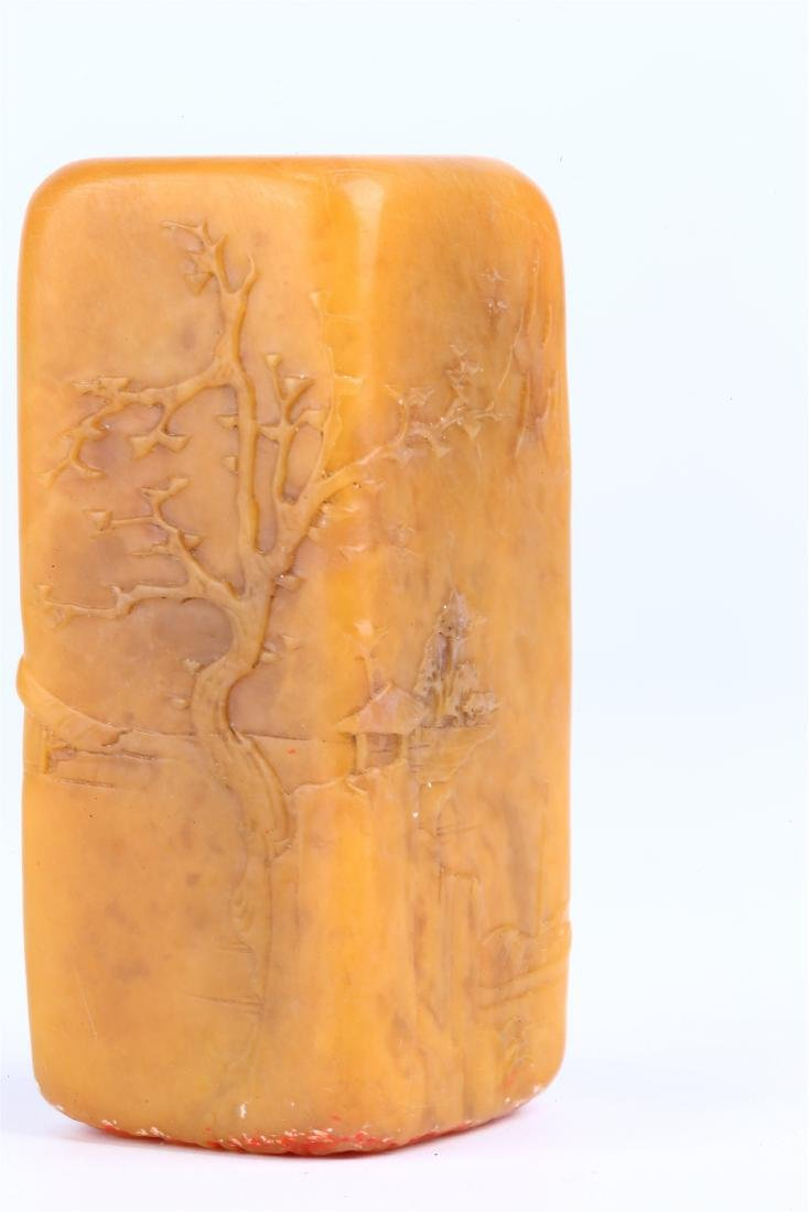 CHINESE SOAPSTONE SEAL - 7
