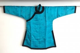 A Chinese Silk Coat