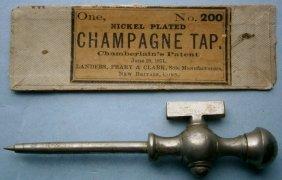 Chamberlains Patent 1871 Champagne Tap