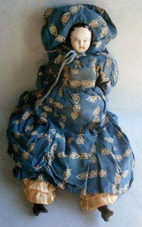 19th Century China Head Doll