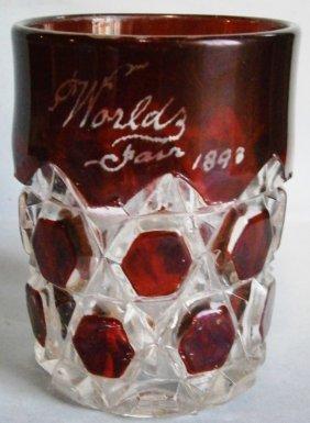 1893 Chicago Columbian Exposition Souvenir Glass