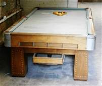 Art Deco Pool Table from the early 1900s