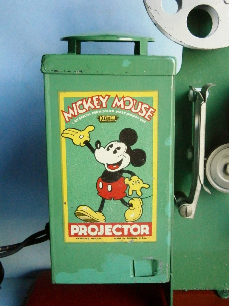 1930s Mickey Mouse Movie Projector by Keystone Mfg. Co. - 2