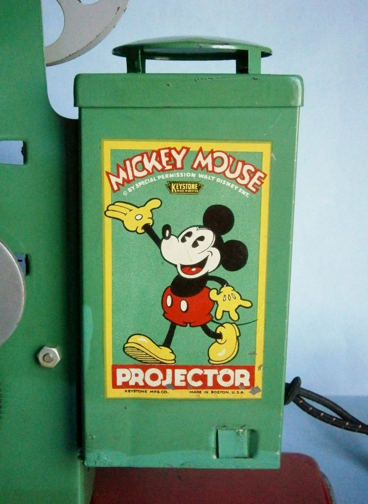 1930s Mickey Mouse Movie Projector by Keystone Mfg. Co. - 3