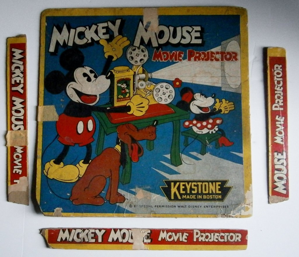 1930s Mickey Mouse Movie Projector by Keystone Mfg. Co. - 7
