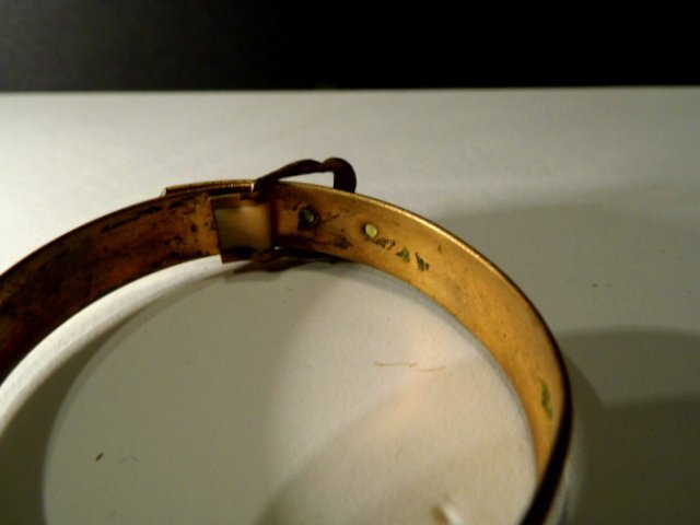 Antique Victorian Youth Bracelet Mother of Pearl - 6