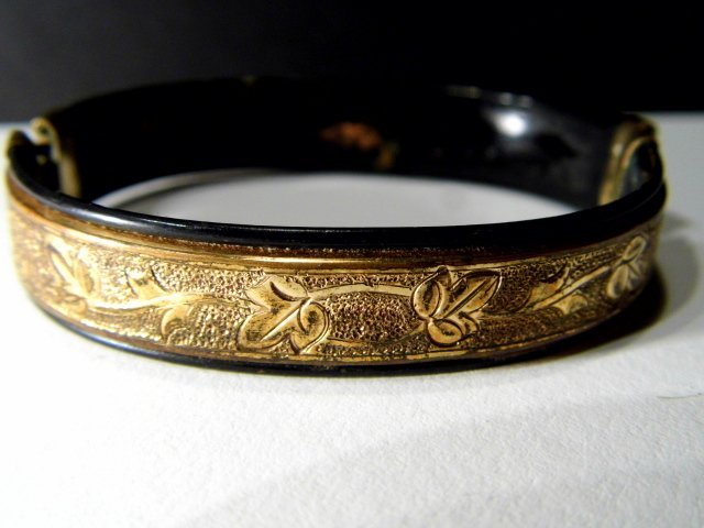 Antique Victorian Youth Bracelet Mother of Pearl - 7