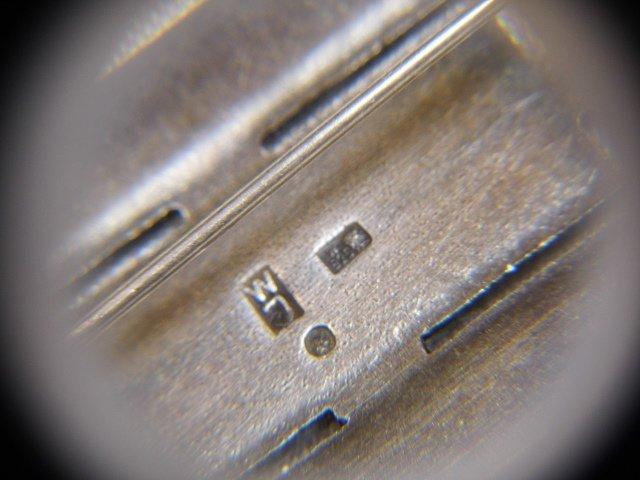 Eastern European Niello Silver Pin & Drop Earrings - 4