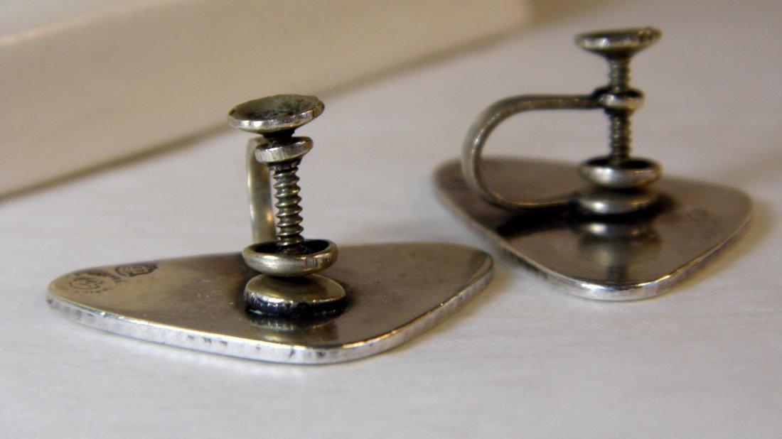 Genuine Vintage Estela Popowski Taxco Earrings - 6