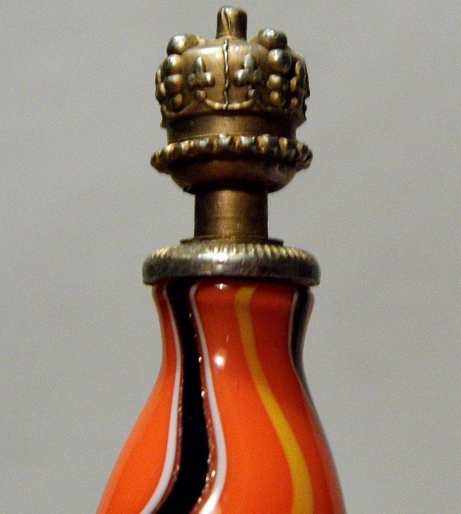 Antique Venetian Art Glass Mini Perfume - 2
