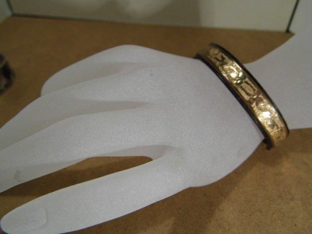 Antique Victorian Gold Fill Bangle Bracelet