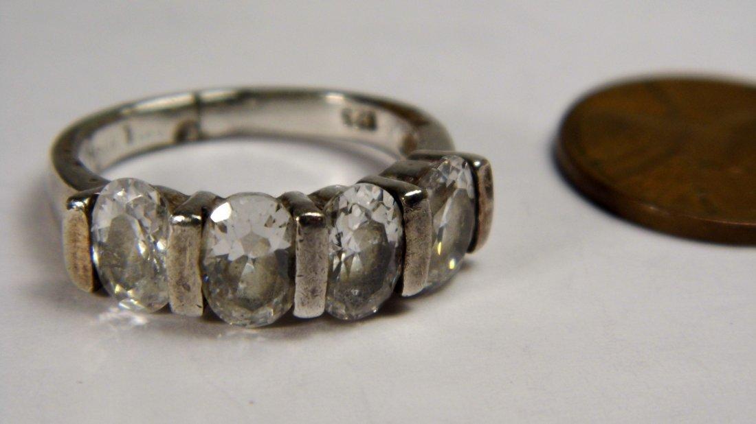 Vintage Sterling Silver Ring - 2