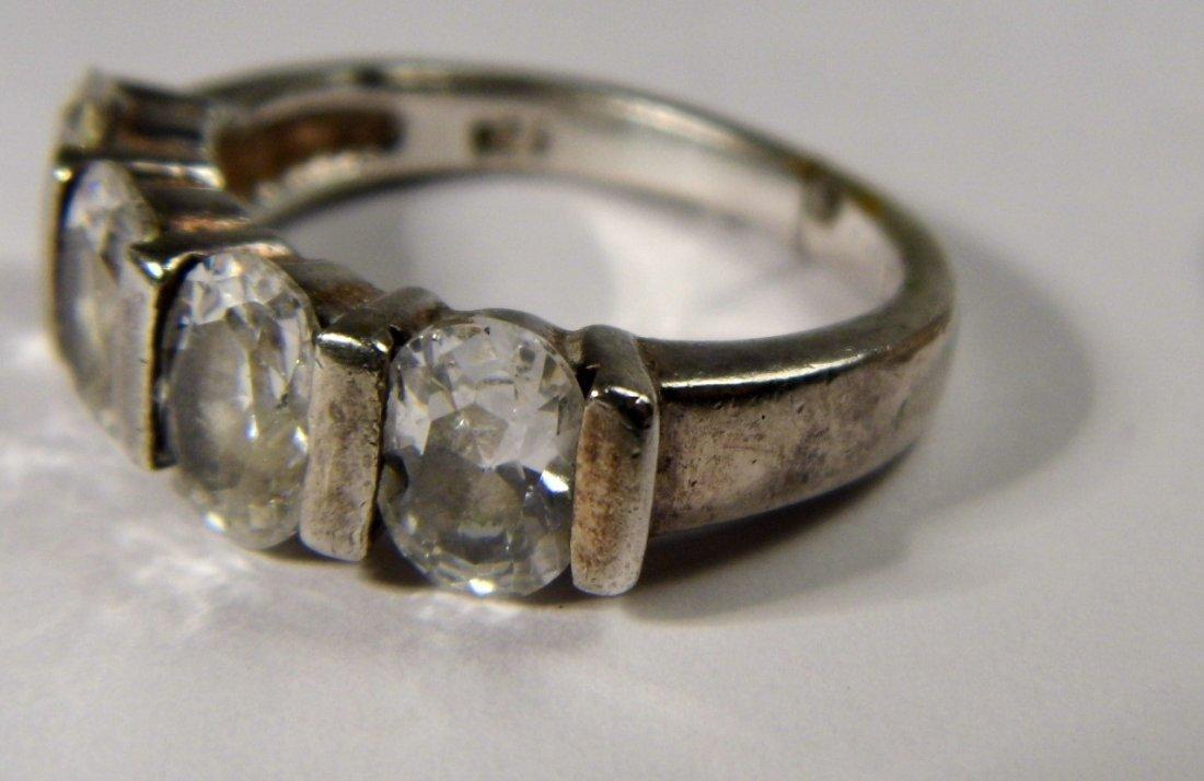 Vintage Sterling Silver Ring - 3