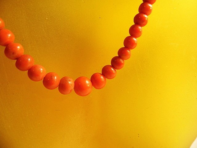 Vintage Collmar Mediterranean Coral Necklace - 2