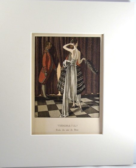 French Art Deco Fashion Print Pierre Brissaud - 2