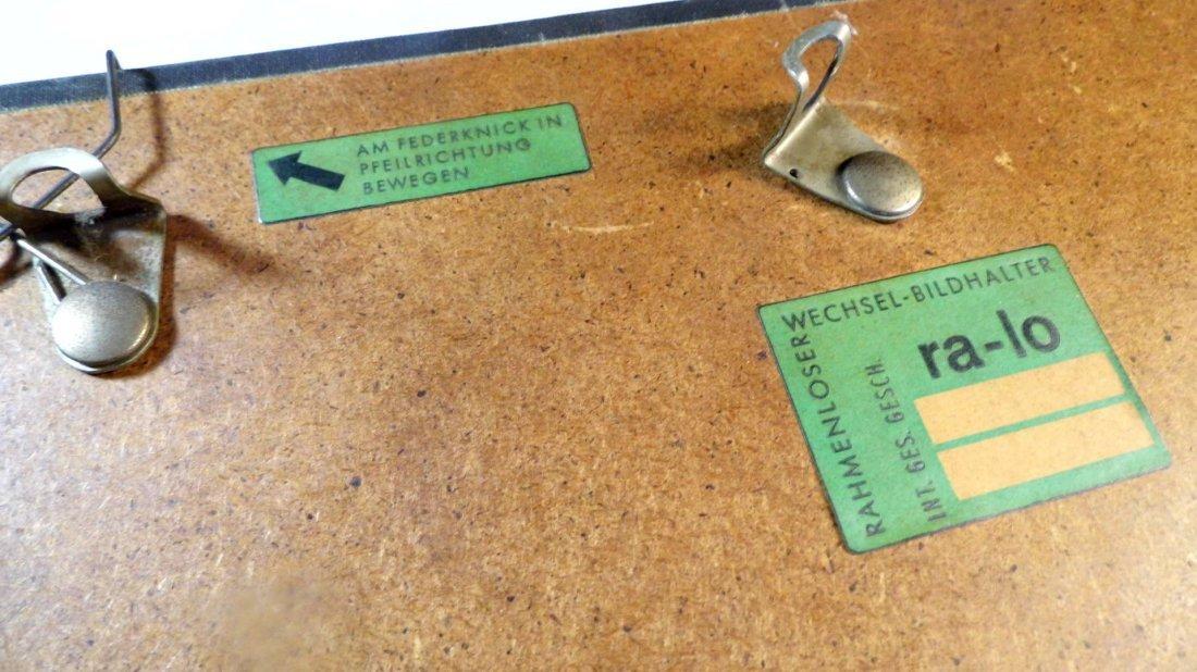 Illegible German Block Print Can of Sardines 1960 - 10