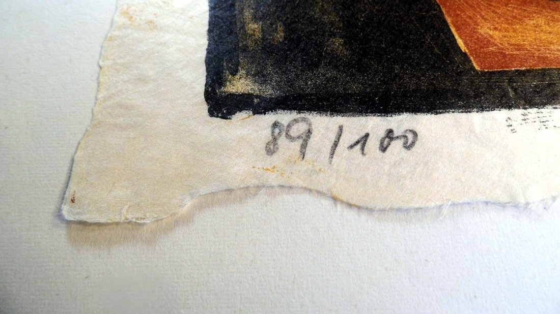 Illegible German Block Print Can of Sardines 1960 - 5