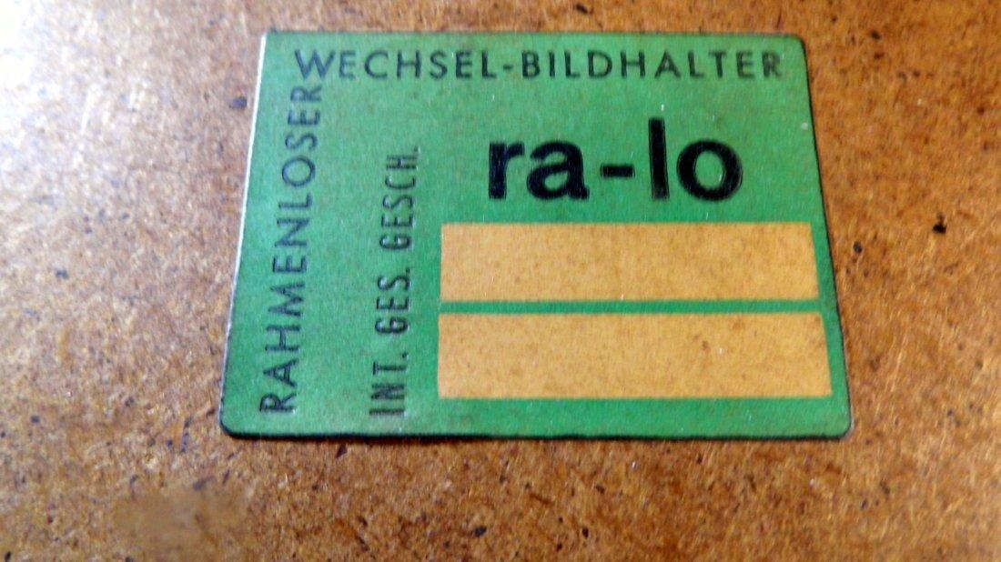 Illegible German Block Print Can of Sardines 1960 - 8