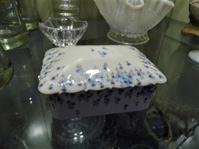 French Limoges Made for Tiffany Porcelain Box