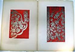 Large Antique French Belle Epoque Prints