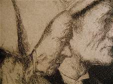American Frederick Wallace b1898 Copper Etching
