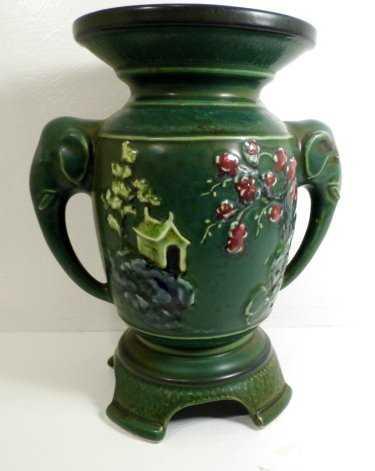 Chinese Pottery Elephant Vase