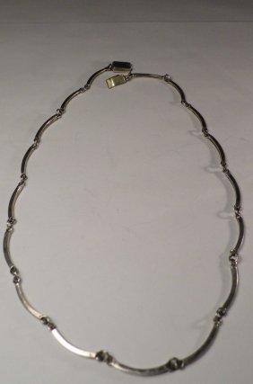 Pretty Delicate Vintage Taxco Necklace Eagle 2