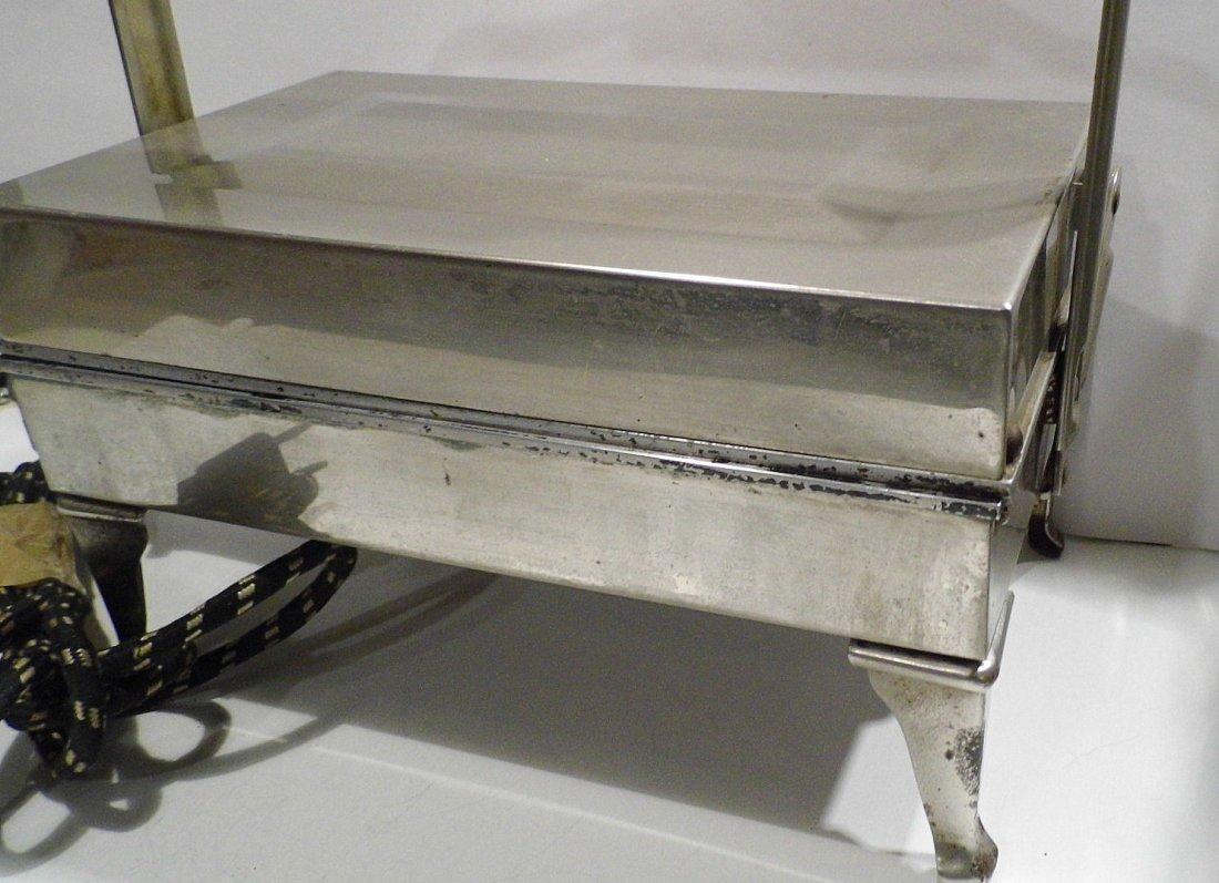 Machine Age Steampunk Westinghouse Waffle Iron 1905 - 3