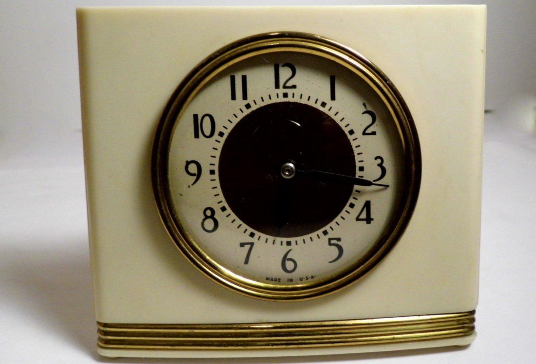 Vintage Westclox Pull Cord Windup Alarm Clock