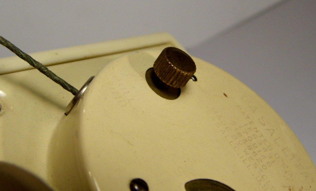 Vintage Westclox Pull Cord Windup Alarm Clock - 3