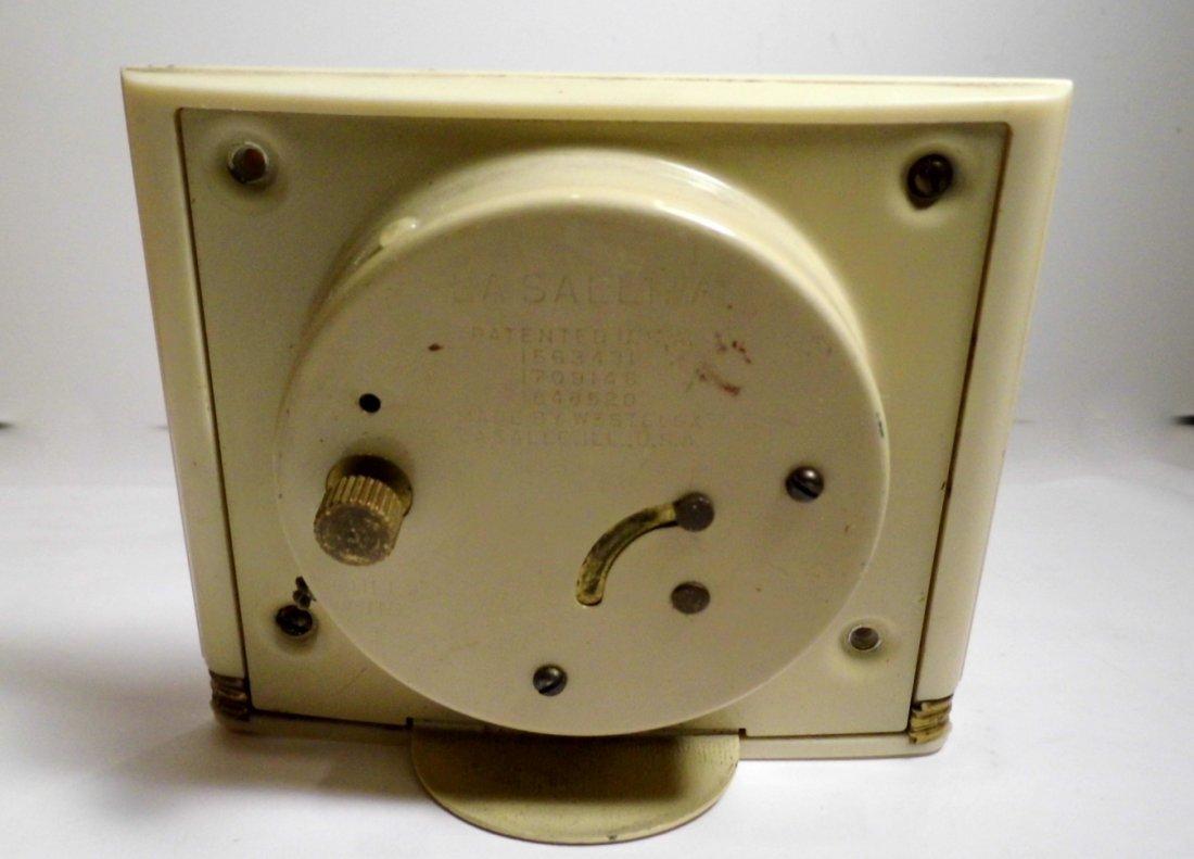 Vintage Westclox Pull Cord Windup Alarm Clock - 4