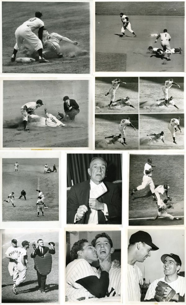 31 Original 1950s AP Baseball  Wire  Photos