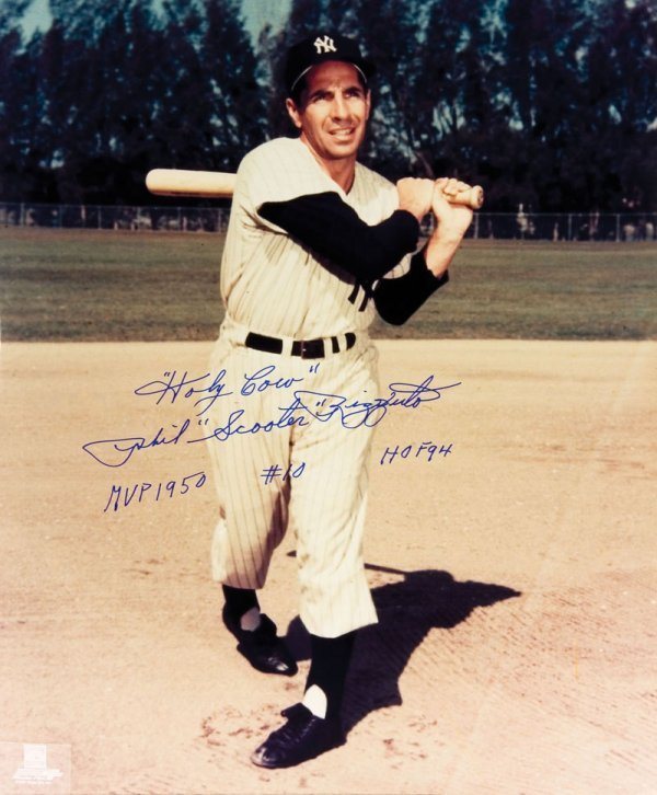 4 Phil Rizzuto Baseball  Photos - 5