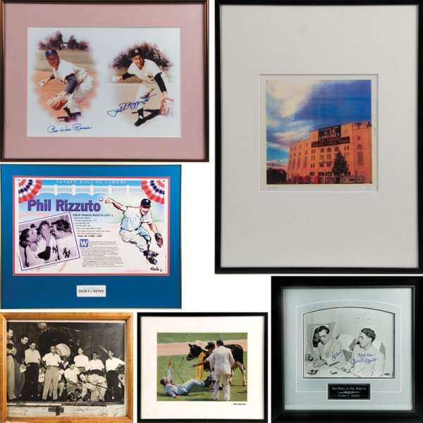 6Phil Rizzuto Baseball  Items