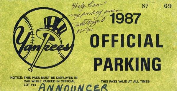 Six Phil Rizzuto Baseball Items - 2