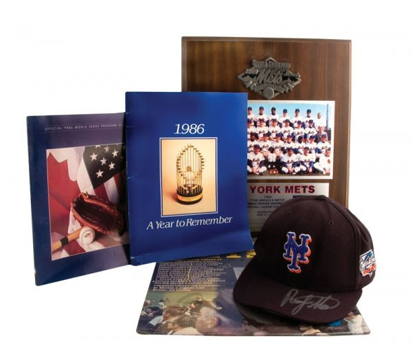 516: Collection of Mets World Series Items