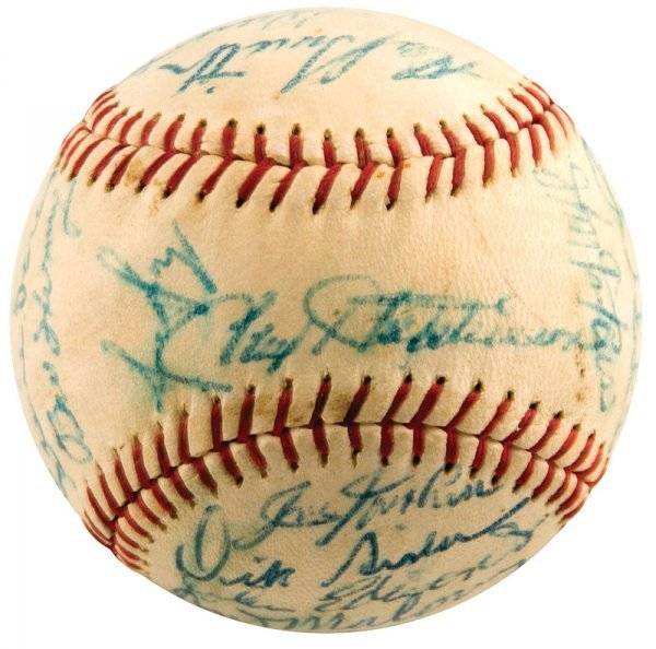 743: 1963 Cincinnati Reds Signed Baseball Pete Rose Roo