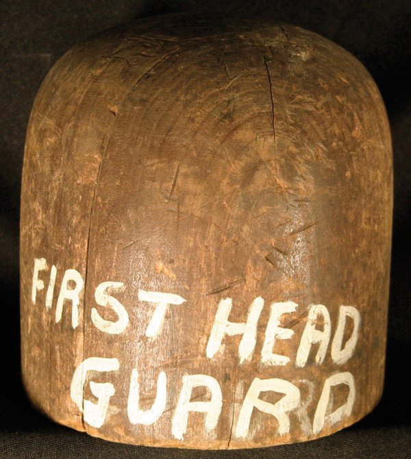 15: 1905 Early Boxing Head Guard Form LOA