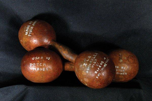 17: Original Peter Maher Pin Weights LOA