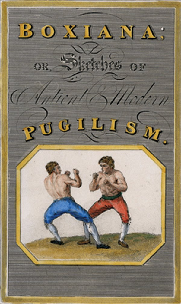 18: Four 1800s Early Boxing Etchings