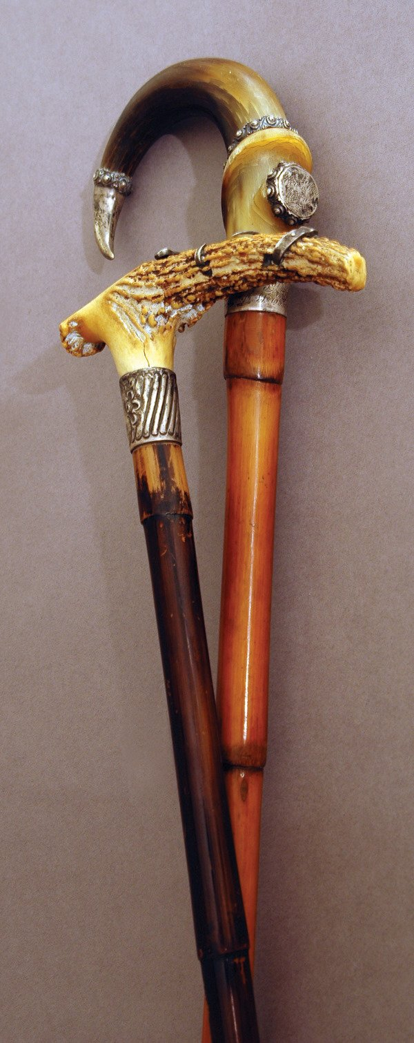 24: 1900's Presentation Canes from Boxers LOA