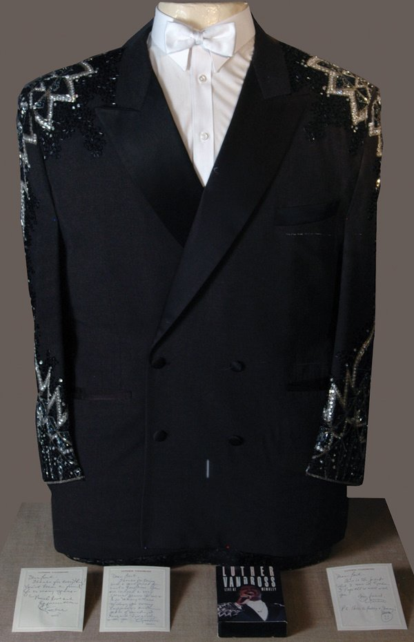 344: Luther Vandross 1989 Stage Worn Jacket LOA