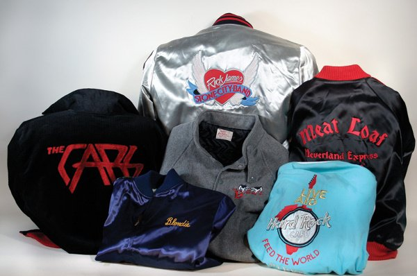 346: Six Satin Tour Jackets The Cars 198 B52's