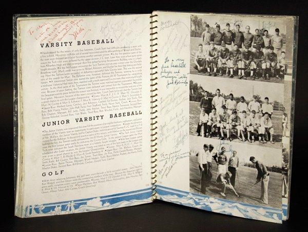 558: 1936 Jackie Robinson High School Yearbook
