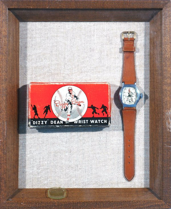 670: Dizzy Dean Signed Letter and Vintage Watch LOA